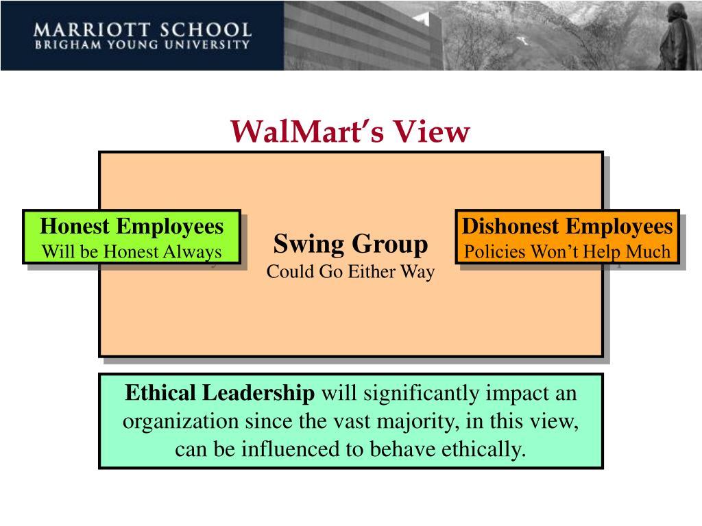 WalMart's View