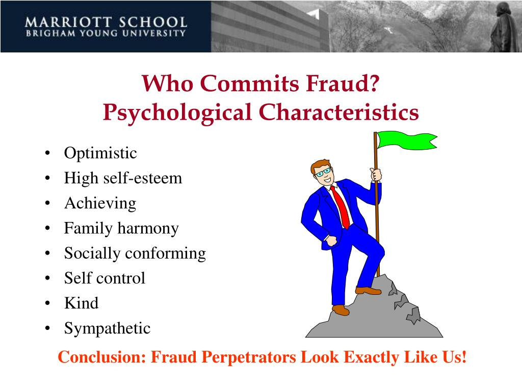 Who Commits Fraud?