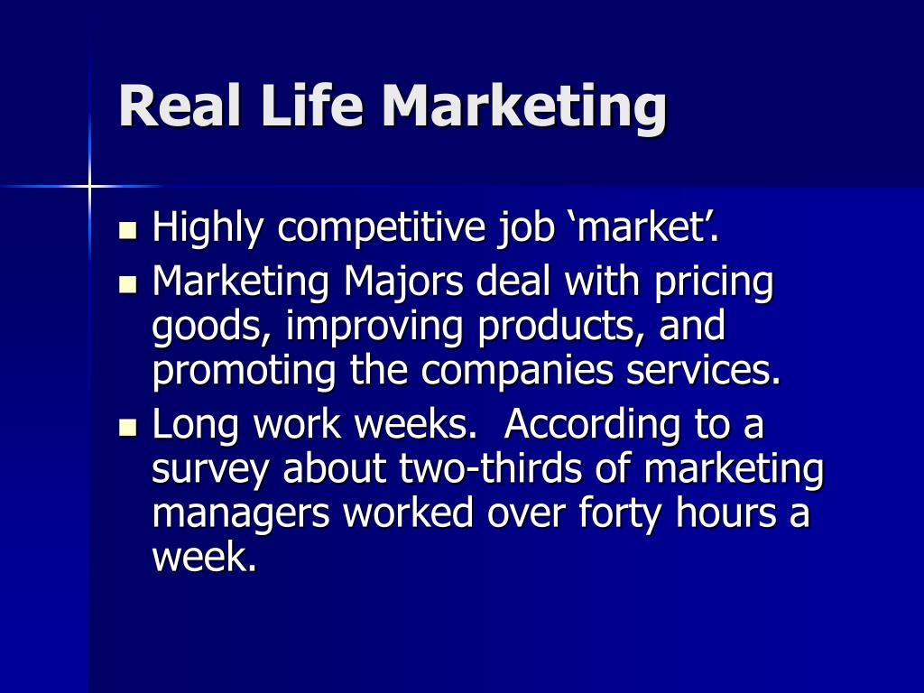 Real Life Marketing
