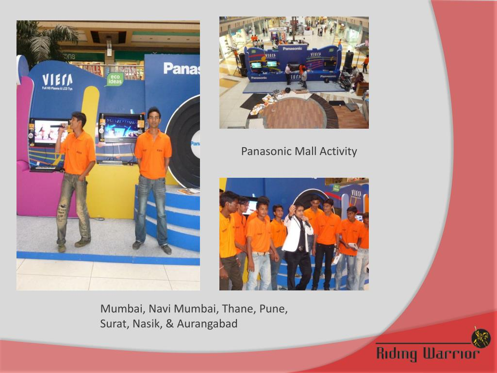 Panasonic Mall Activity
