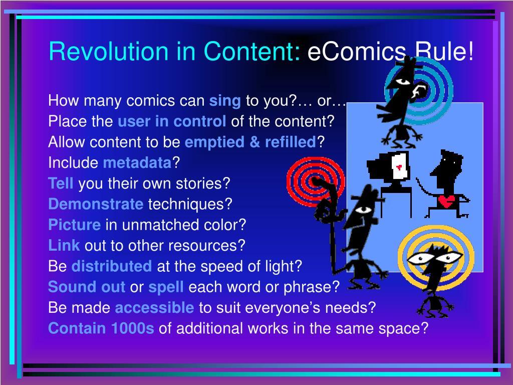 Revolution in Content: