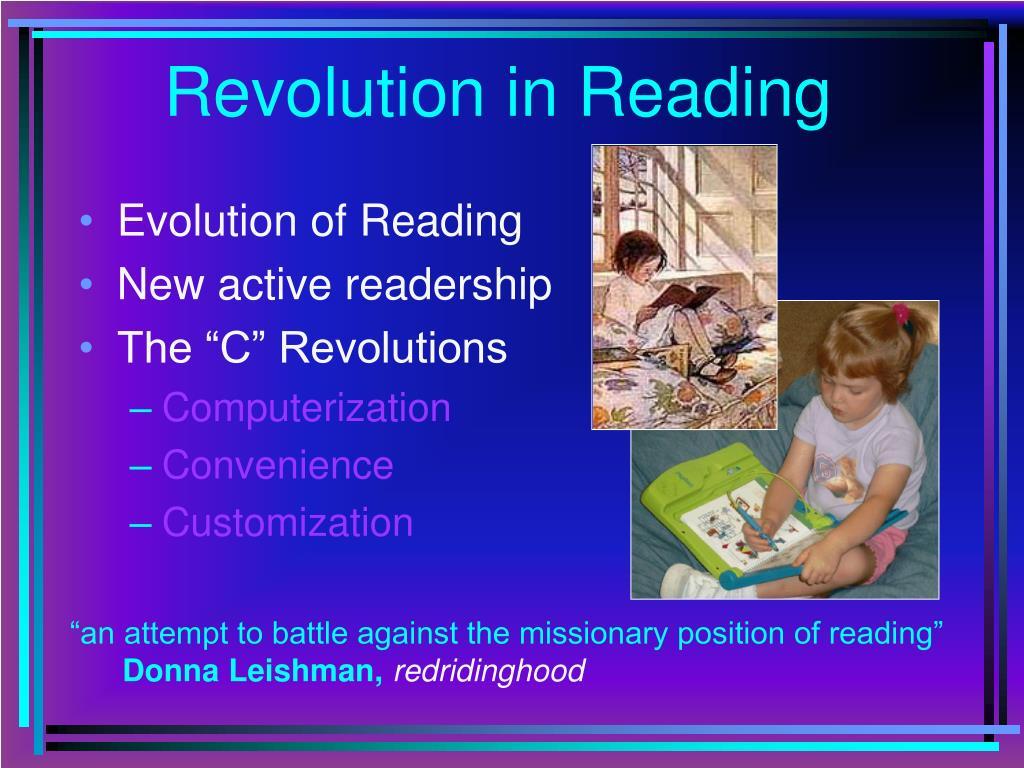 Revolution in Reading