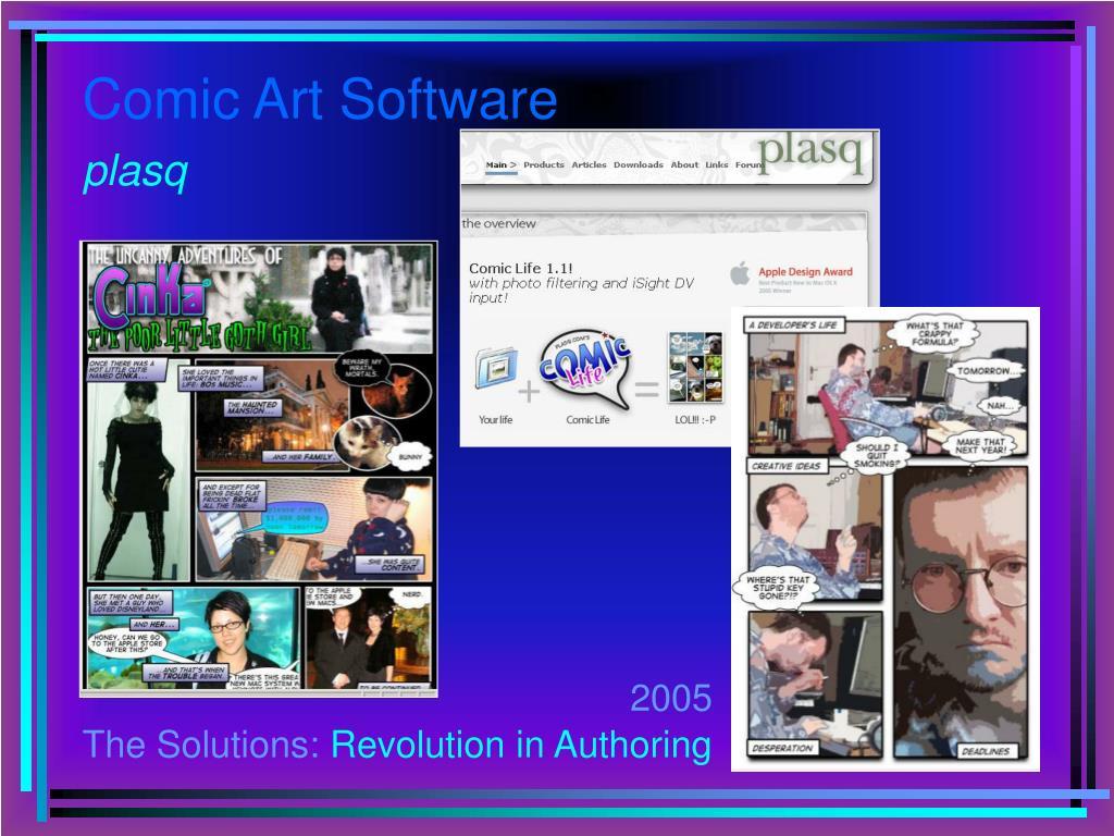 Comic Art Software