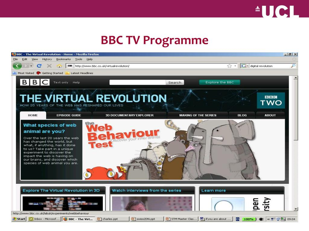 BBC TV Programme