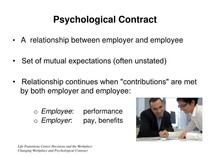 relationship between psychological contract and employee engagement