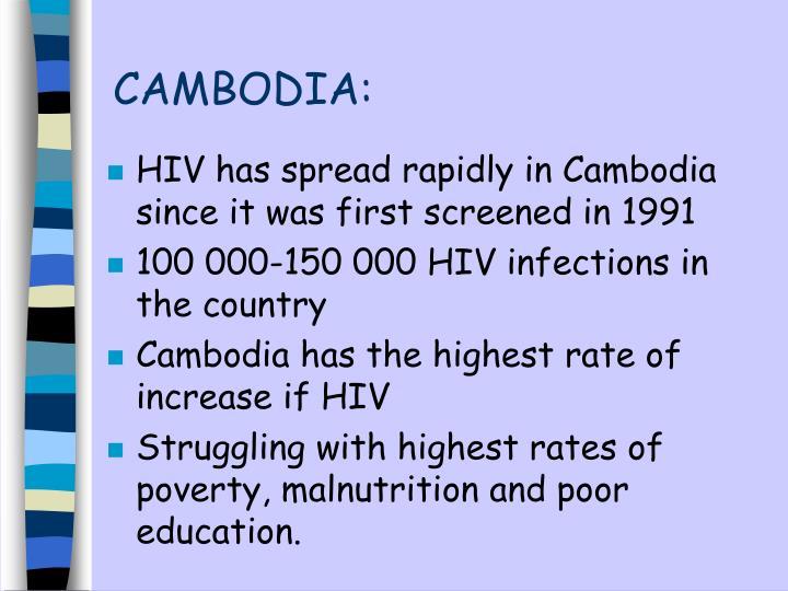 CAMBODIA: