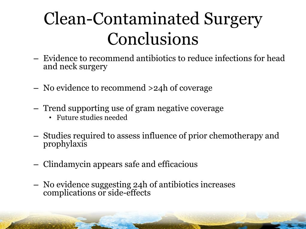 Clean-Contaminated Surgery