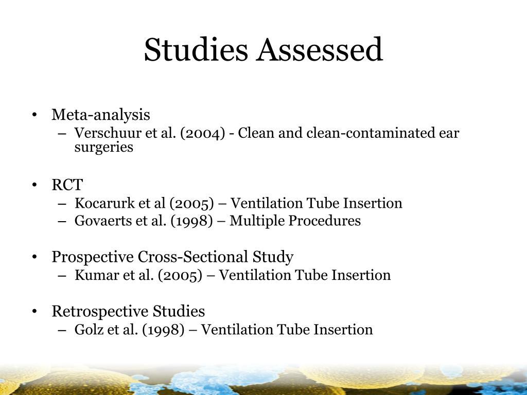 Studies Assessed