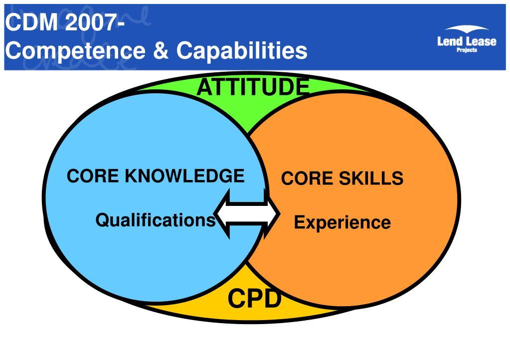 CDM 2007-