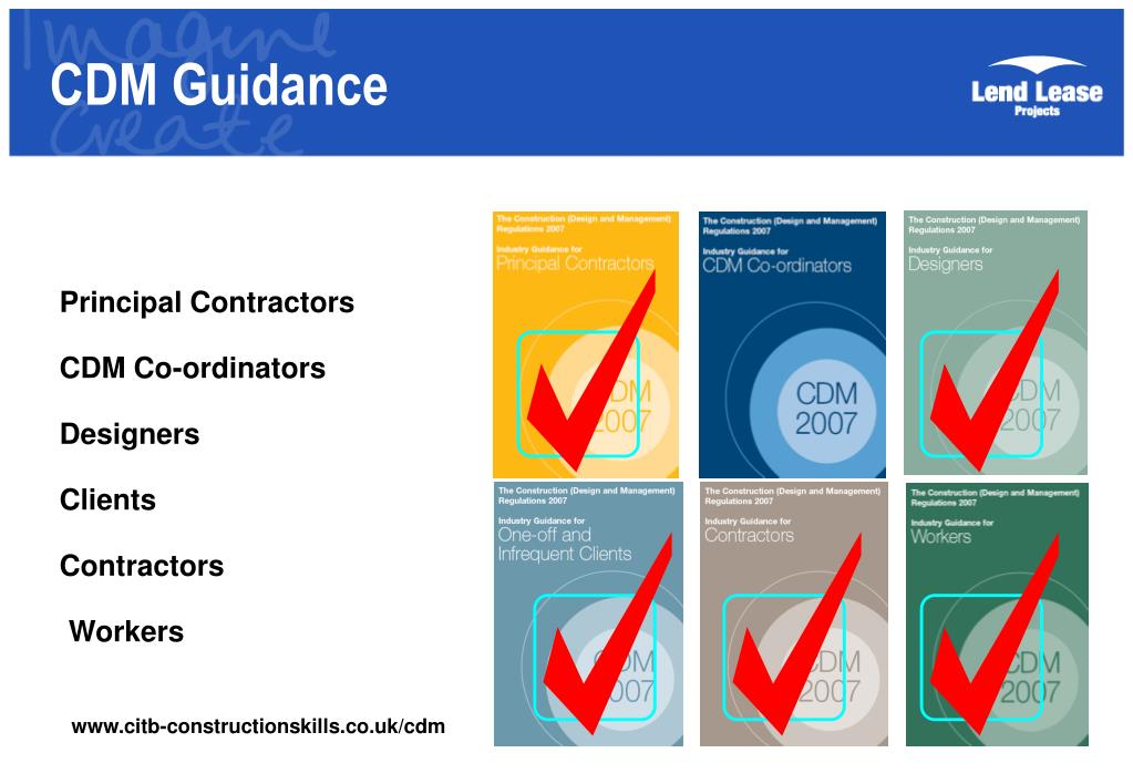 CDM Guidance
