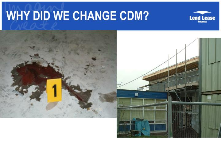 Why did we change cdm