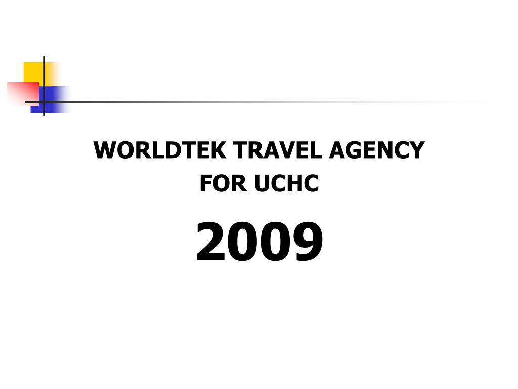 WORLDTEK TRAVEL AGENCY
