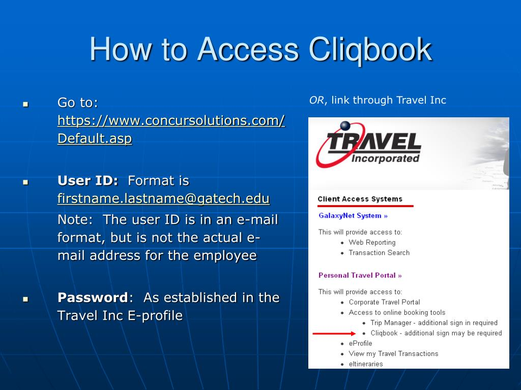 How to Access Cliqbook