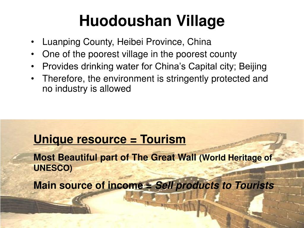 Huodoushan Village