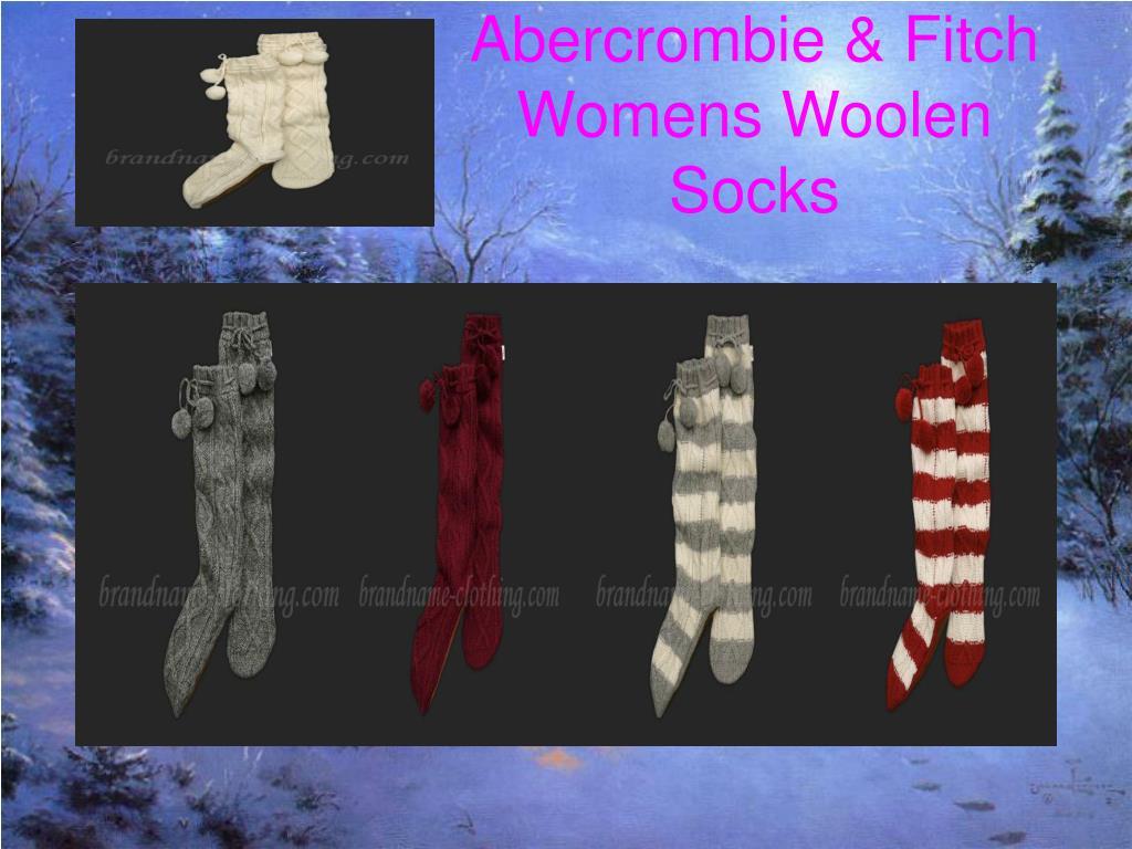 Abercrombie & Fitch Womens Woolen Socks