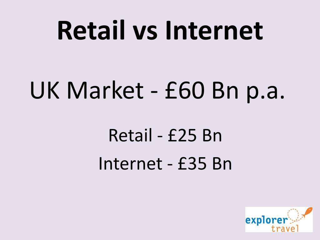 Retail vs Internet
