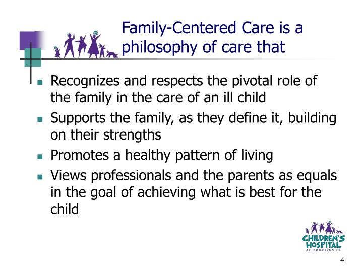 Family-Centered Care is a