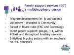 family support services 06 a multidisciplinary design