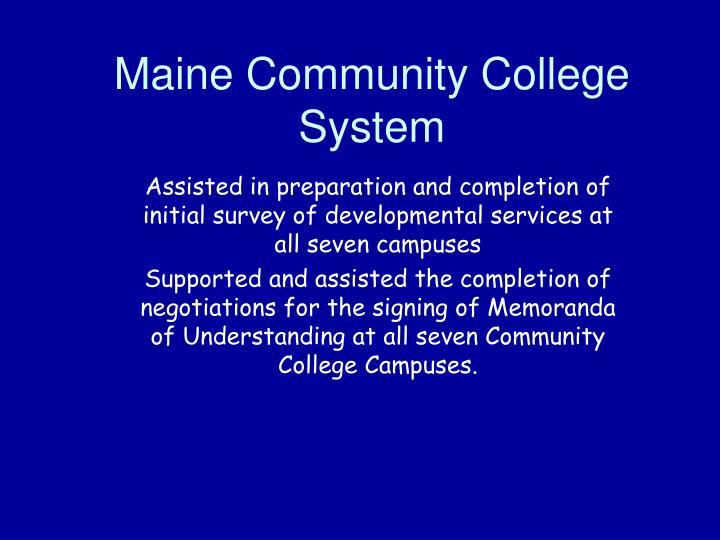 Maine Community College System