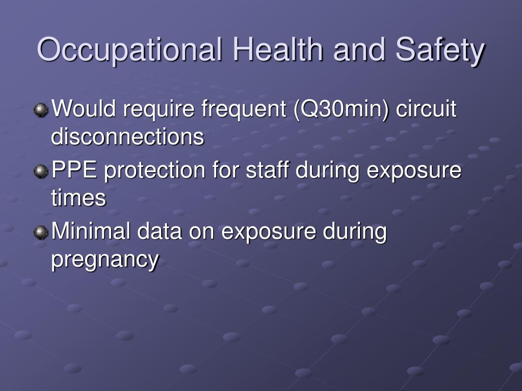 occupational health and safety manual