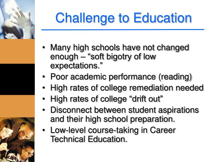 Challenge to Education