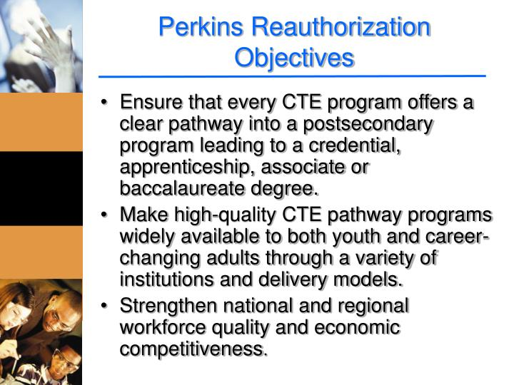 Perkins Reauthorization