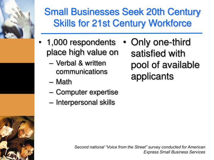 Small Businesses Seek 20th Century