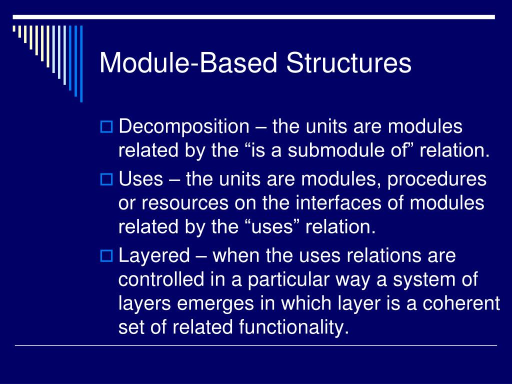 Module-Based Structures
