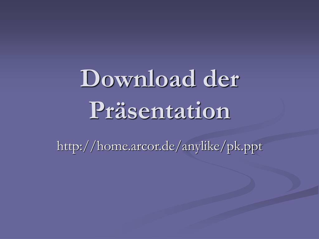 Download der Präsentation
