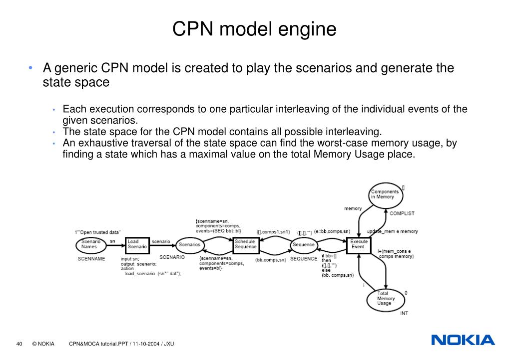 CPN model engine