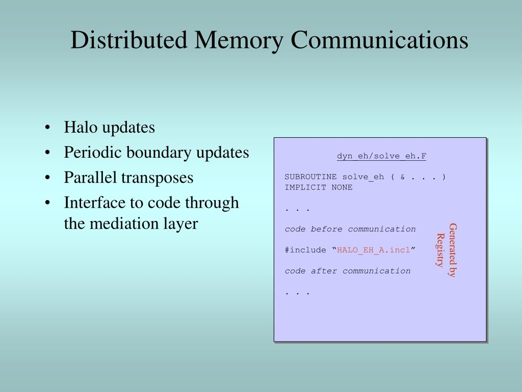 Halo updates