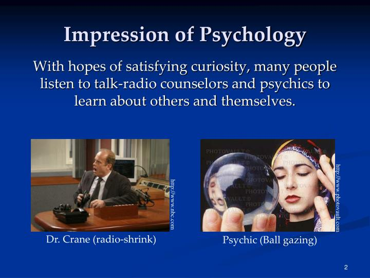 Impression of Psychology