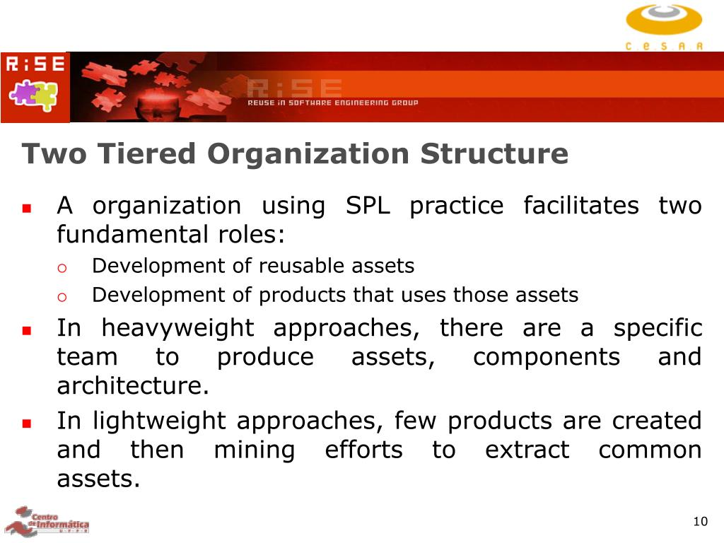 Two Tiered Organization Structure
