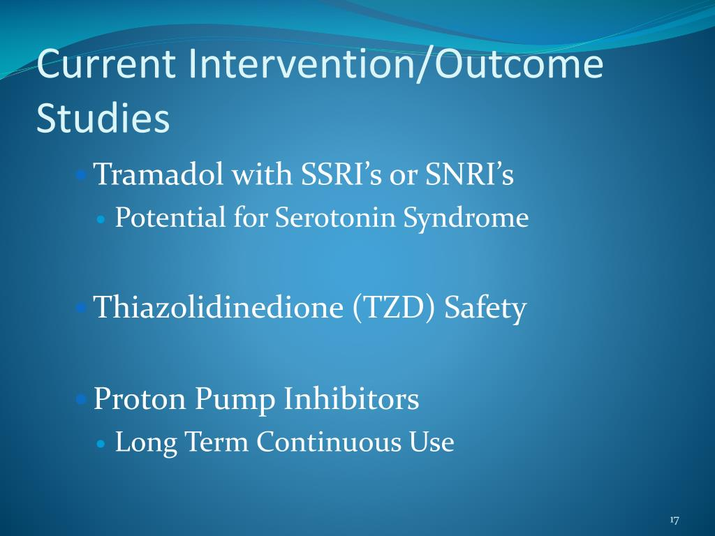 Current Intervention/Outcome Studies