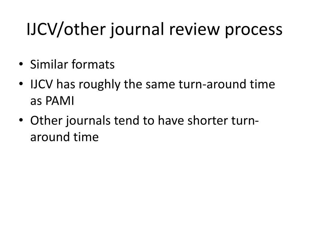 IJCV/other journal