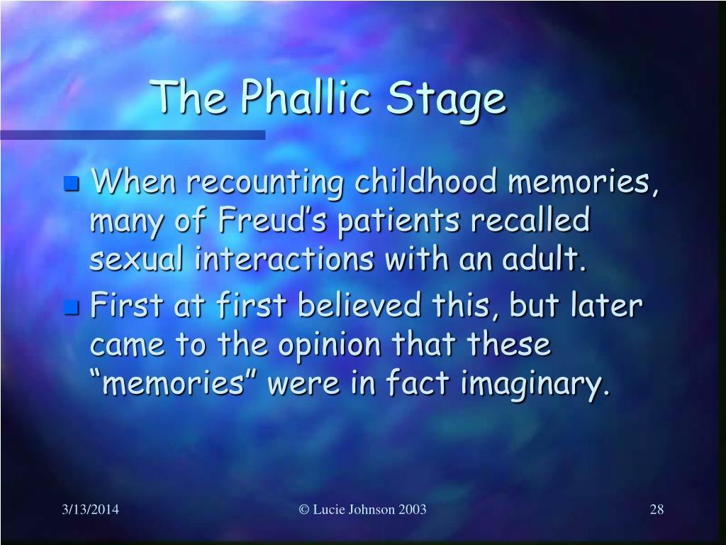 The Phallic Stage