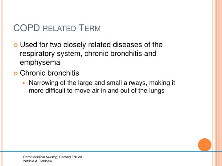 COPD related Term