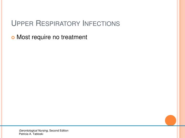 Upper Respiratory Infections