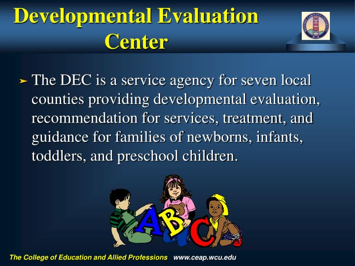 Developmental Evaluation Center