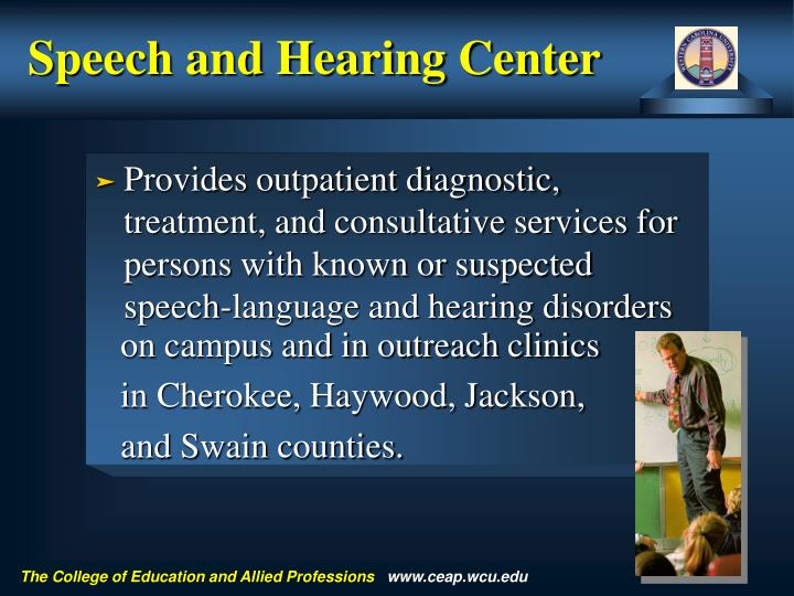 Speech and Hearing Center