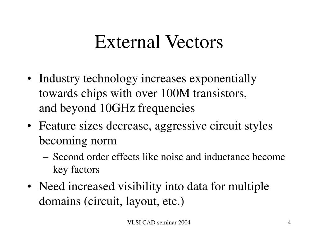External Vectors