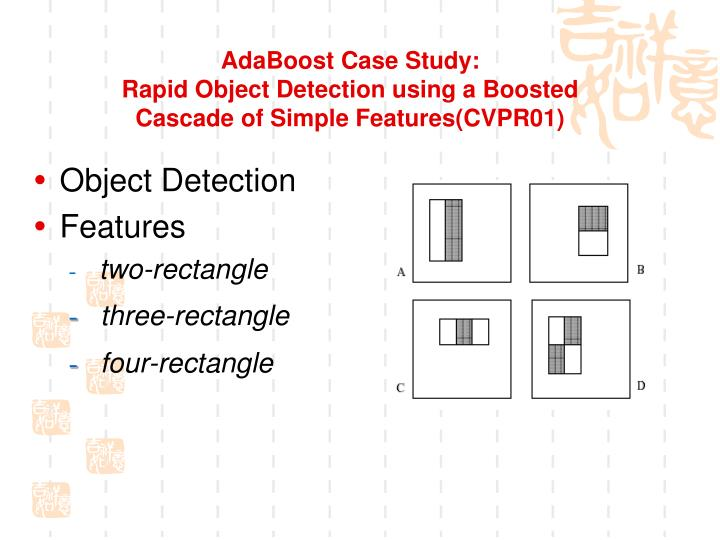 AdaBoost Case Study: