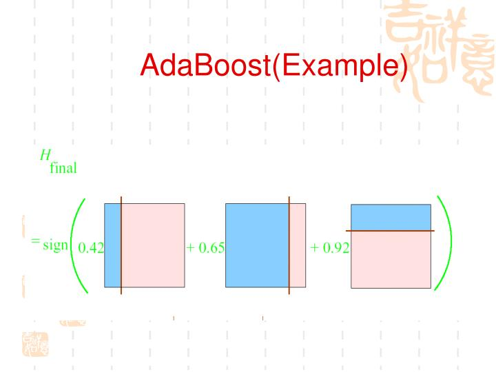 AdaBoost(Example)