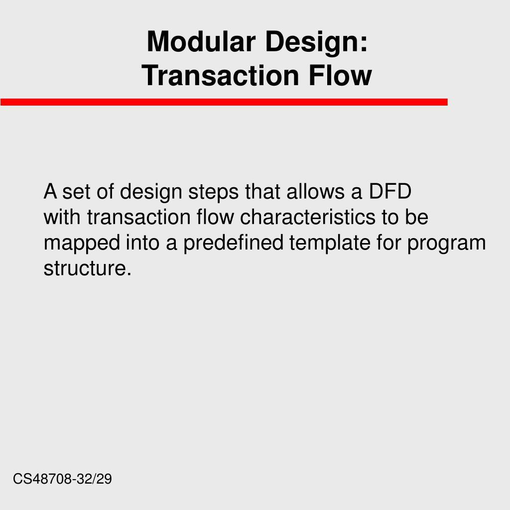 Modular Design: