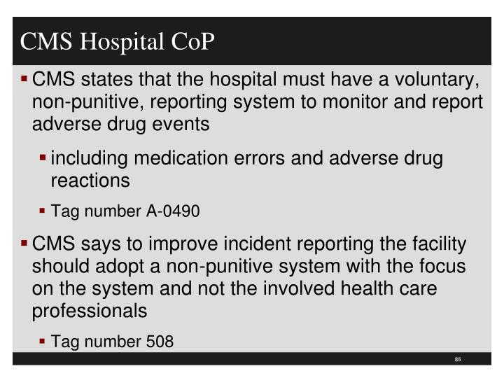 CMS Hospital CoP