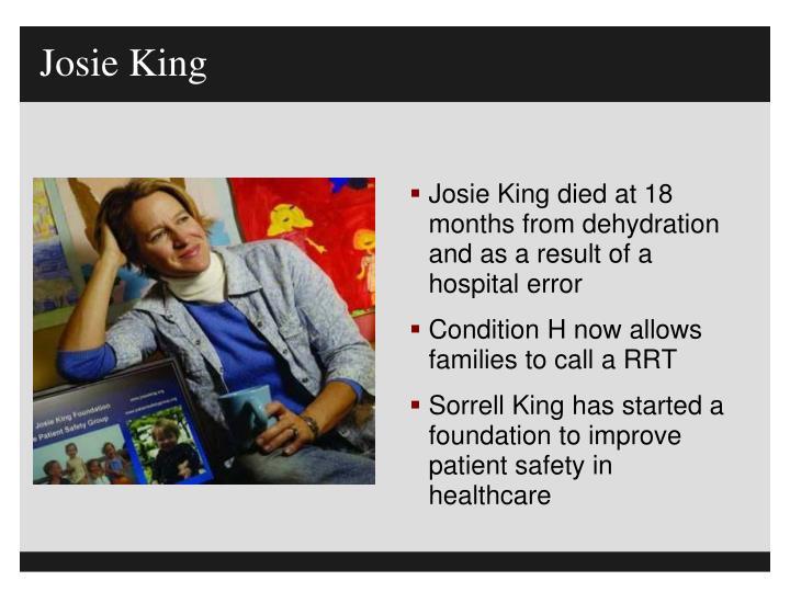 Josie King
