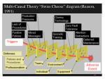 multi causal theory swiss cheese diagram reason 1991