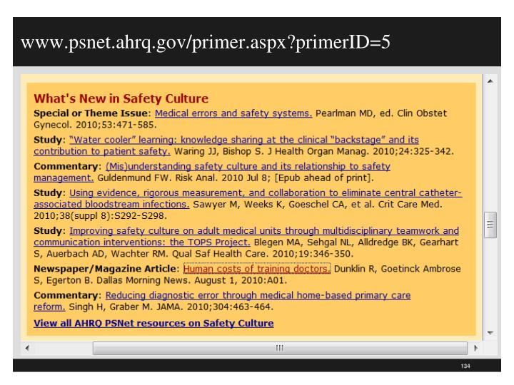 www.psnet.ahrq.gov/primer.aspx?primerID=5
