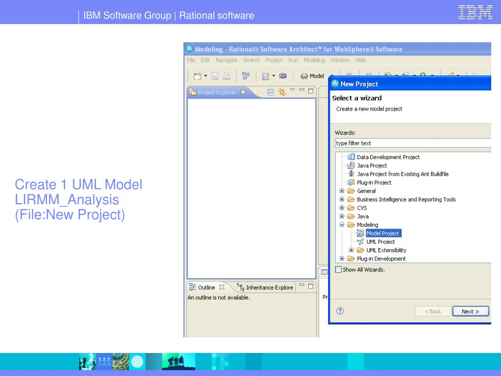 Create 1 UML Model LIRMM_Analysis