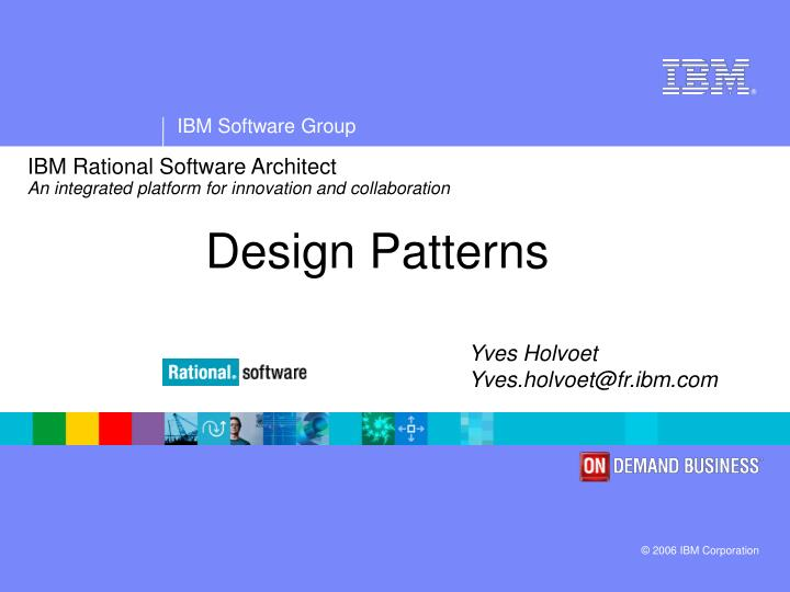 Ibm rational software architect an integrated platform for innovation and collaboration l.jpg